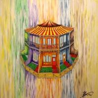 'Terrace Carousel' Acrylic on Canvas, 2014