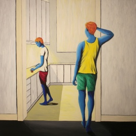 'Drosera' Acrylic on Canvas, 2015